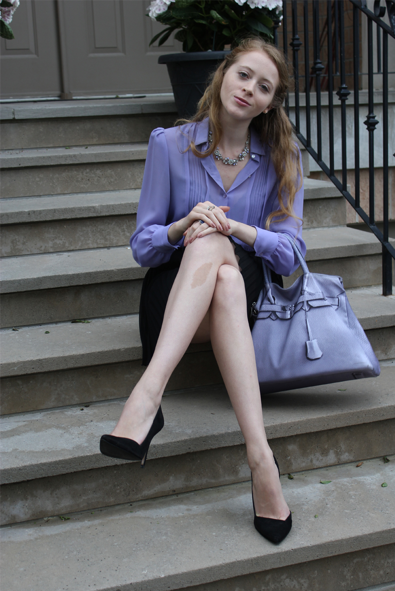 banana taipei fake hermes bag purple chiffon shirt
