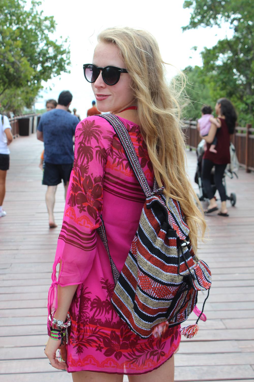 mexican navajo print backpack la luna roxy dress