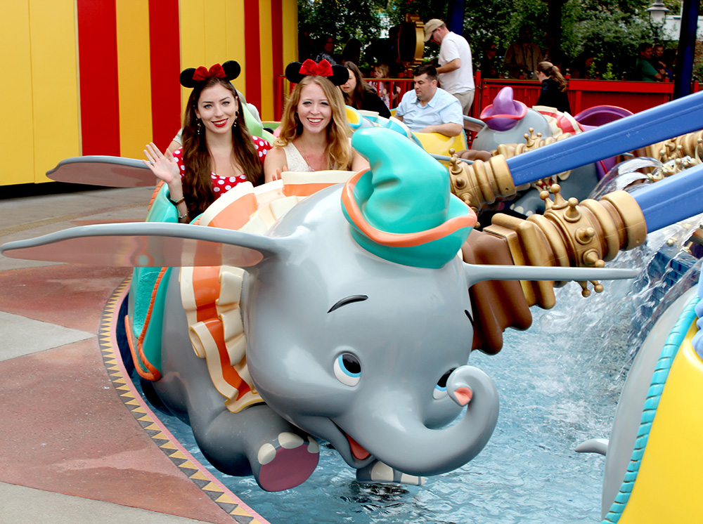 dumbo flying elephant ride