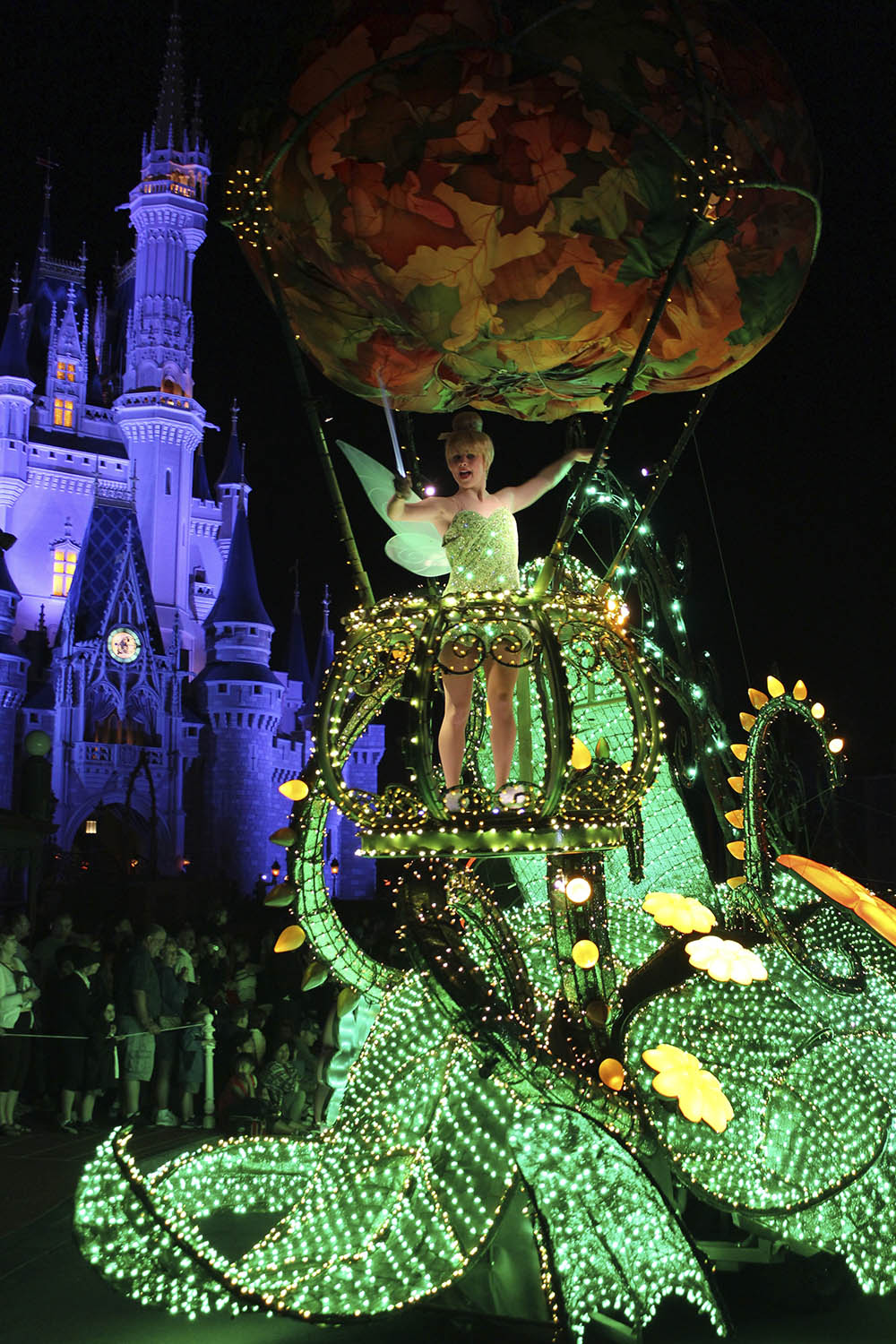 tinkerbell electric parade disney