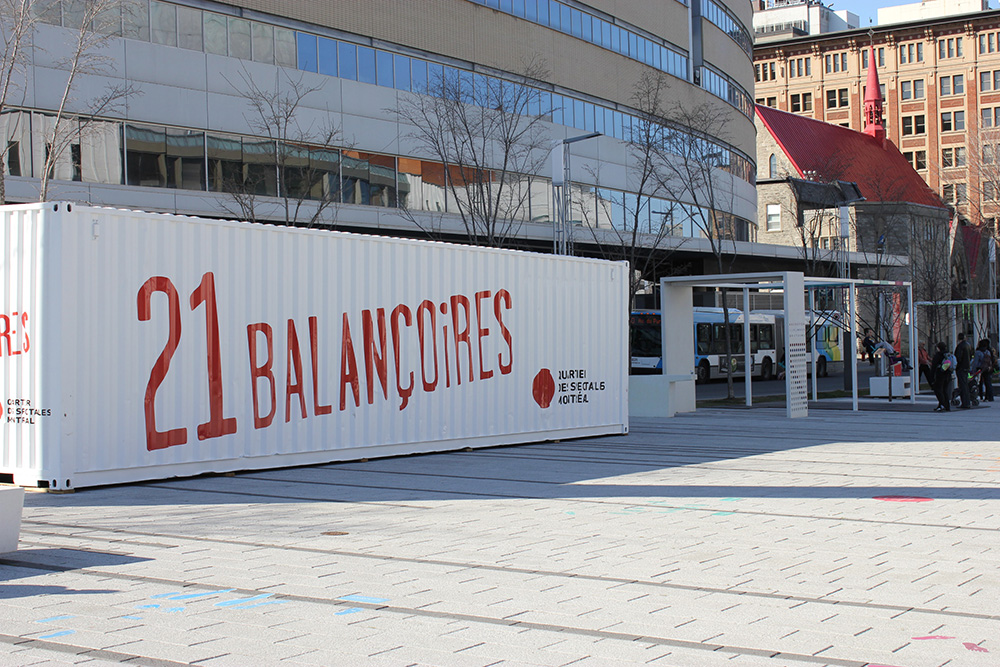 21 balancoires place des arts montreal 2013