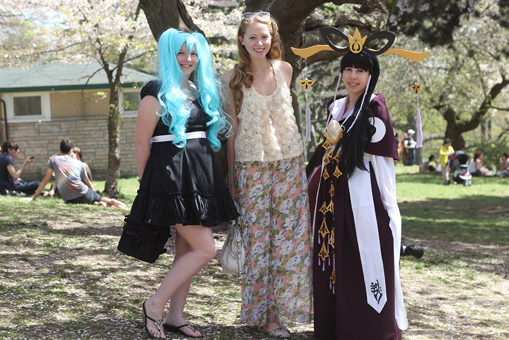 anime cosplayers in toronto high park