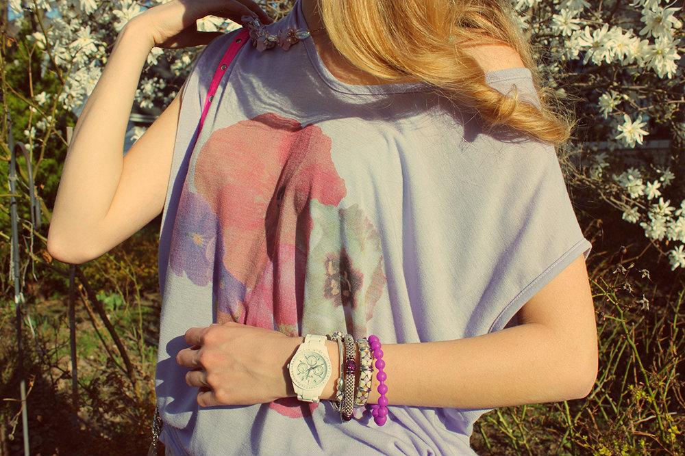 pansy tshirt
