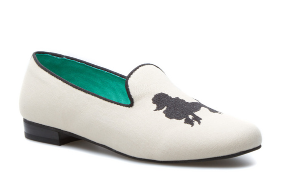 seychelles poodle slipper