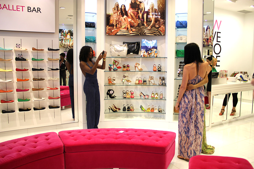 nine west yorkdale store opening