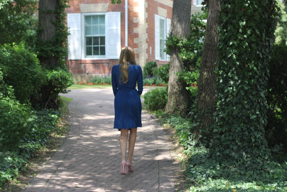 issa dress behind