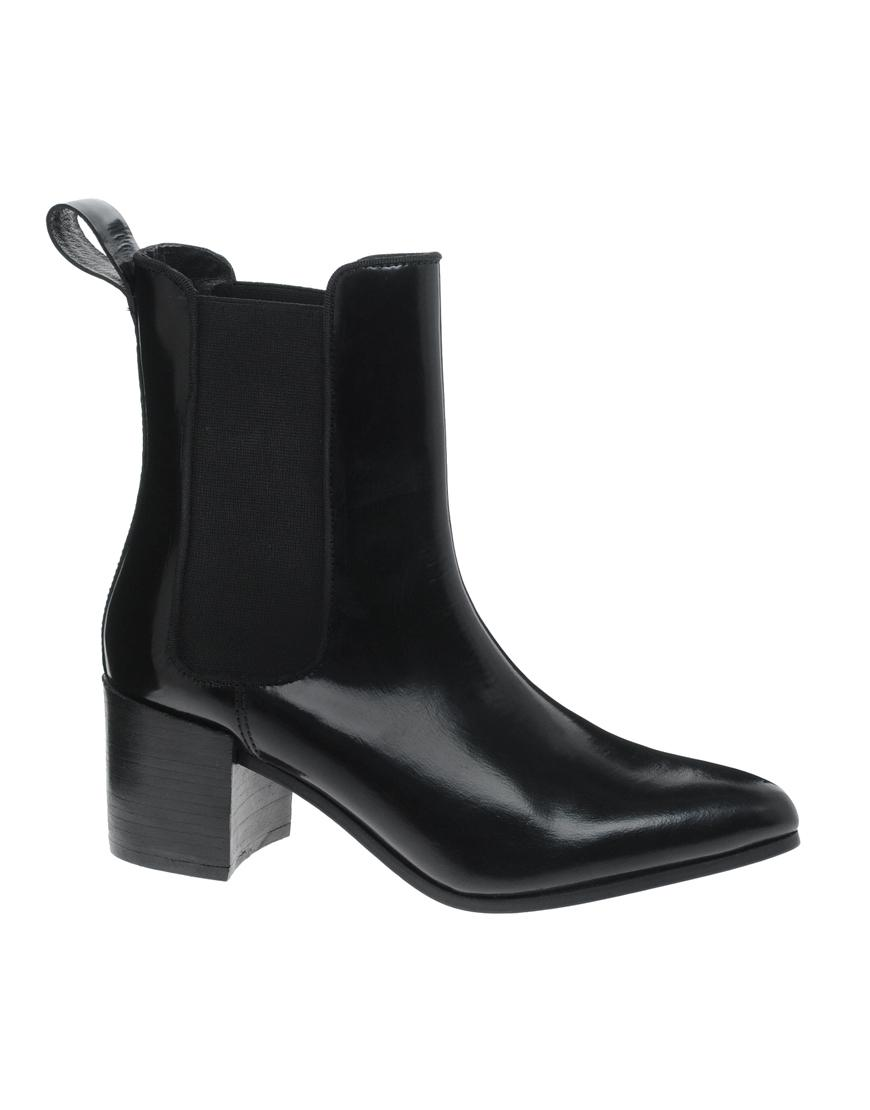 asos apprise leather chelsea boot