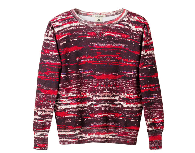coloured sweatshirt isabel marant