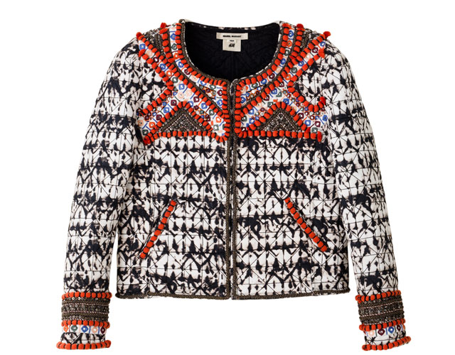 embellished jacket isabel marant for h&m