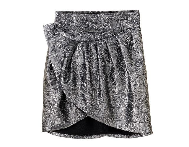 isabel marant textured skirt