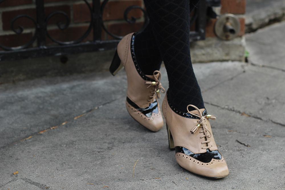 parisian oxford heels