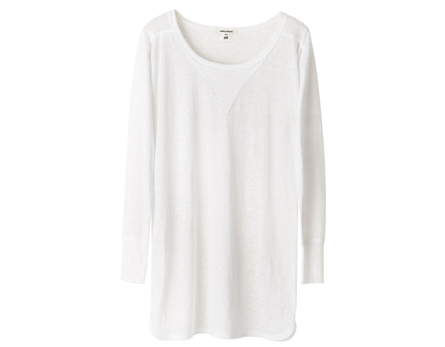 white top isabel marant for h&m