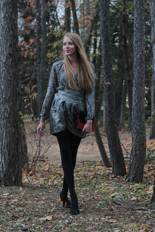 blogger wearing isabel marant for h&m