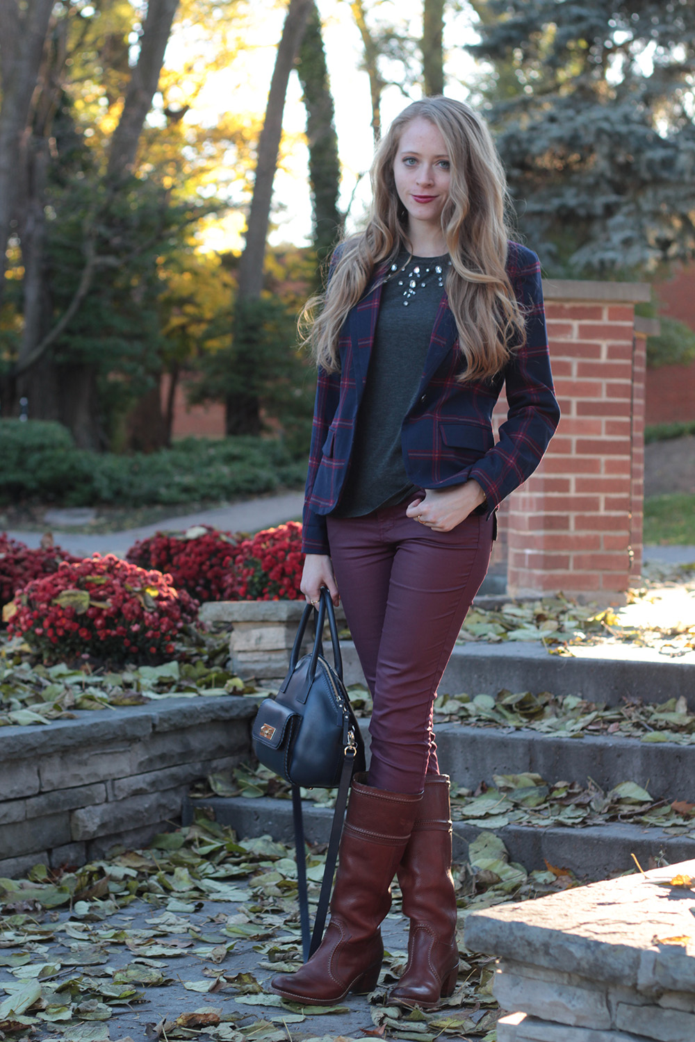 plaid blazer 3