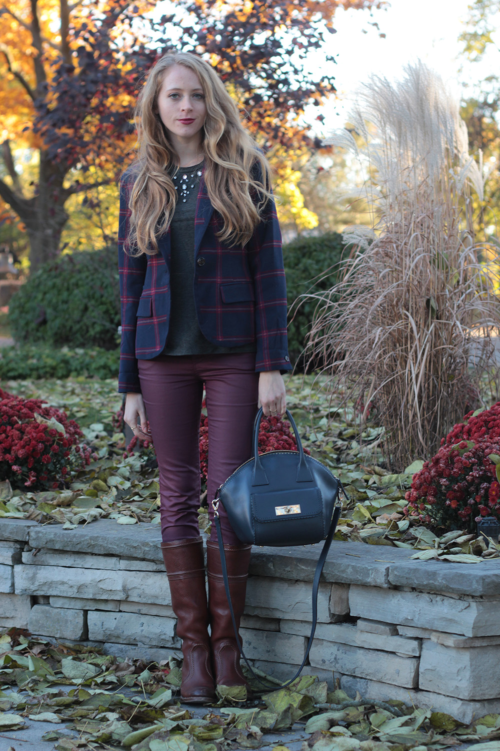 plaid blazer 7