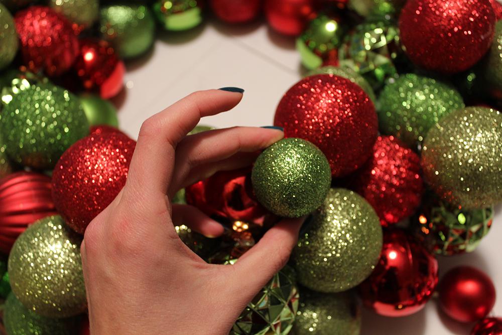 diy wreath step 6