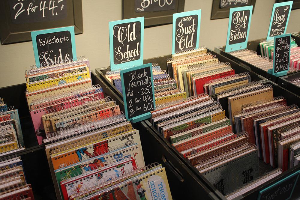 ooak note books