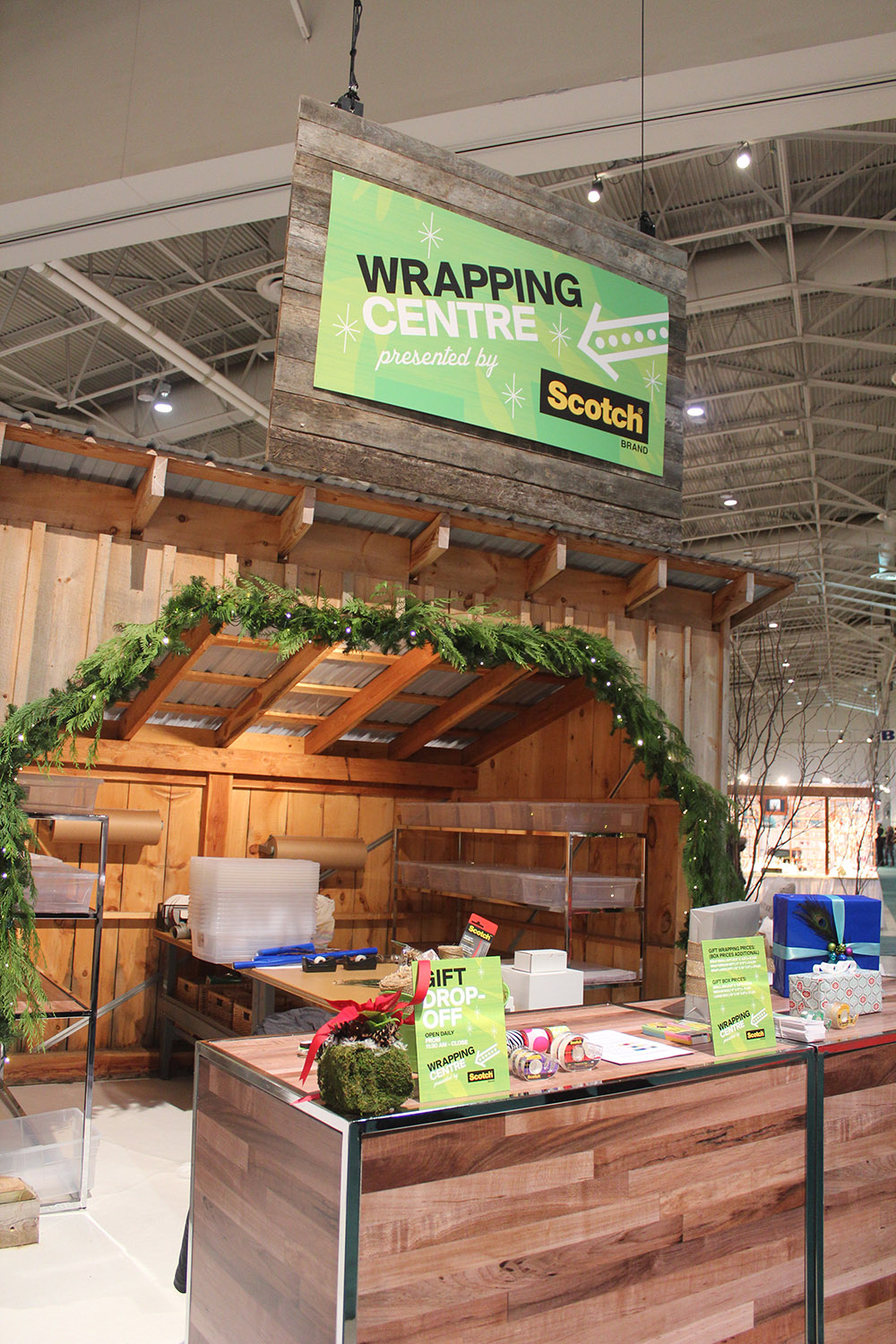 ooak wrapping centre