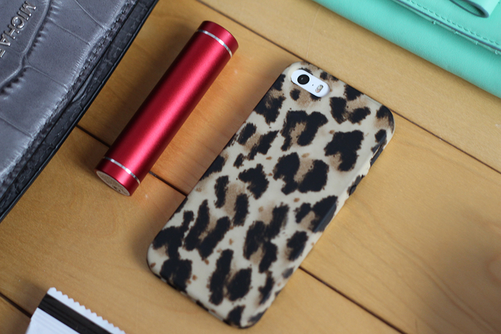 jcrew leopard iphone case