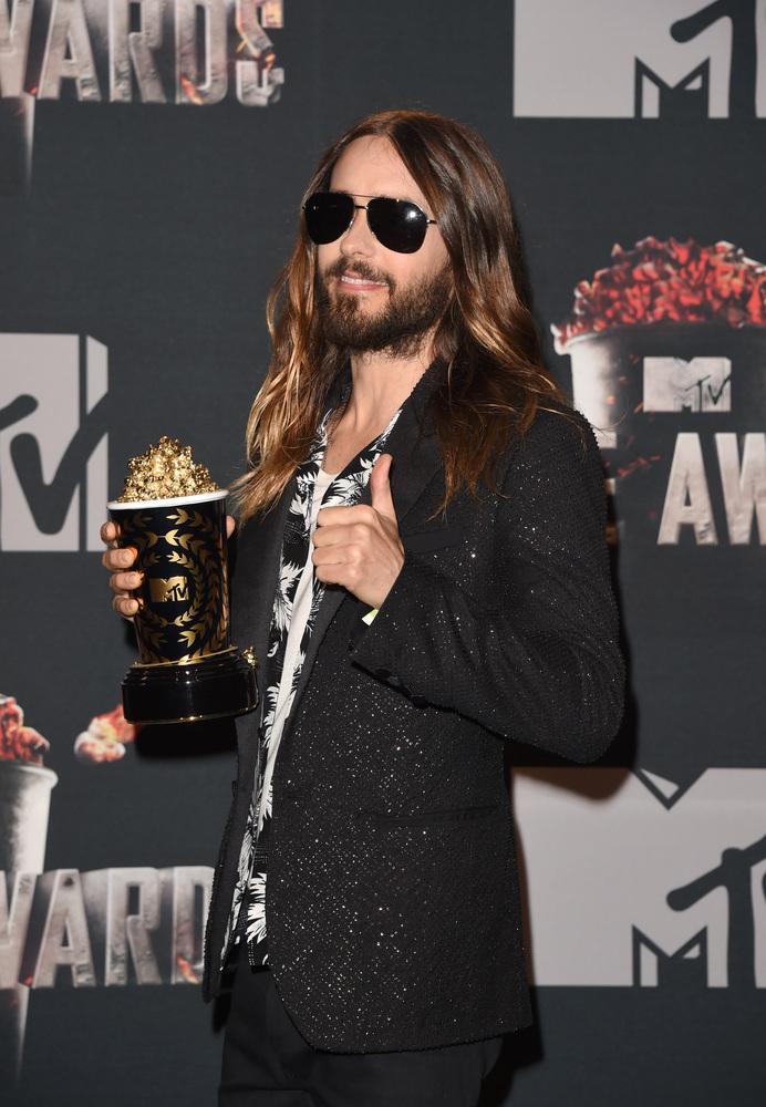 jared leto 2014 mtv movie awards
