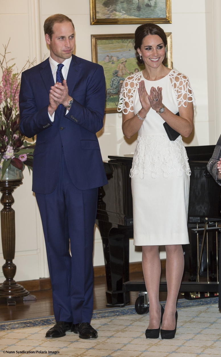 British Royal couple visits Canberra