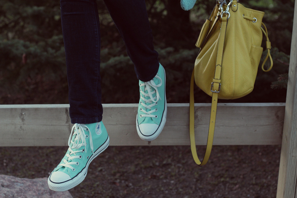 mint converse all star