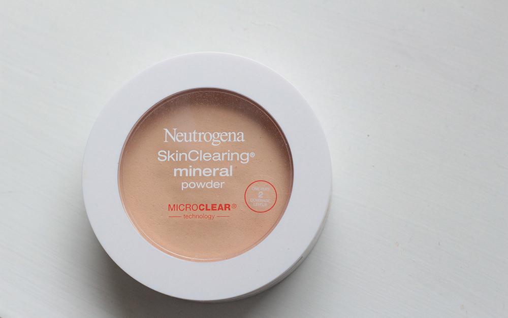 neutrogena skin clearing mineral powder #10