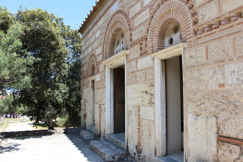 ancient agora church