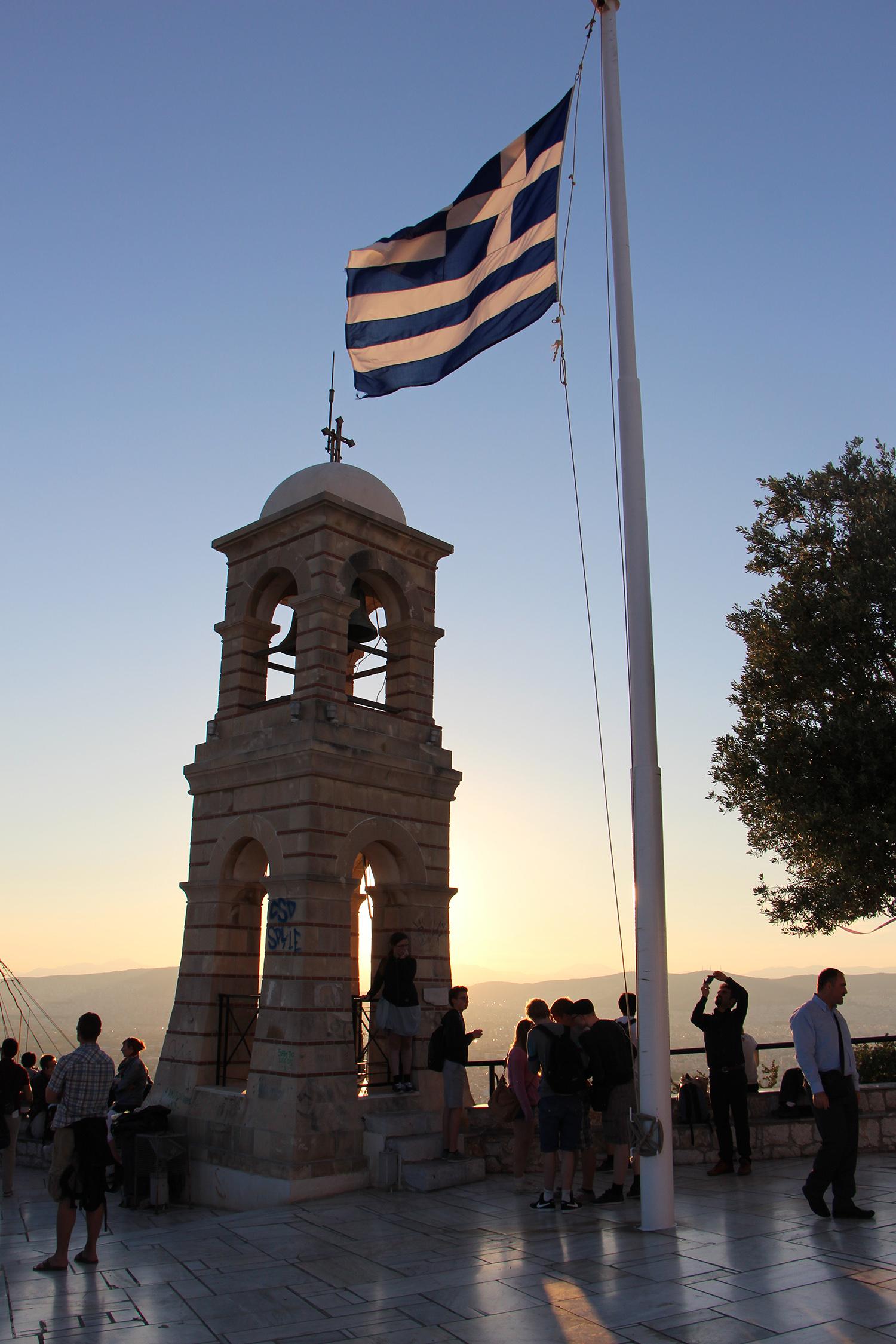 mount lycabettus bell tower