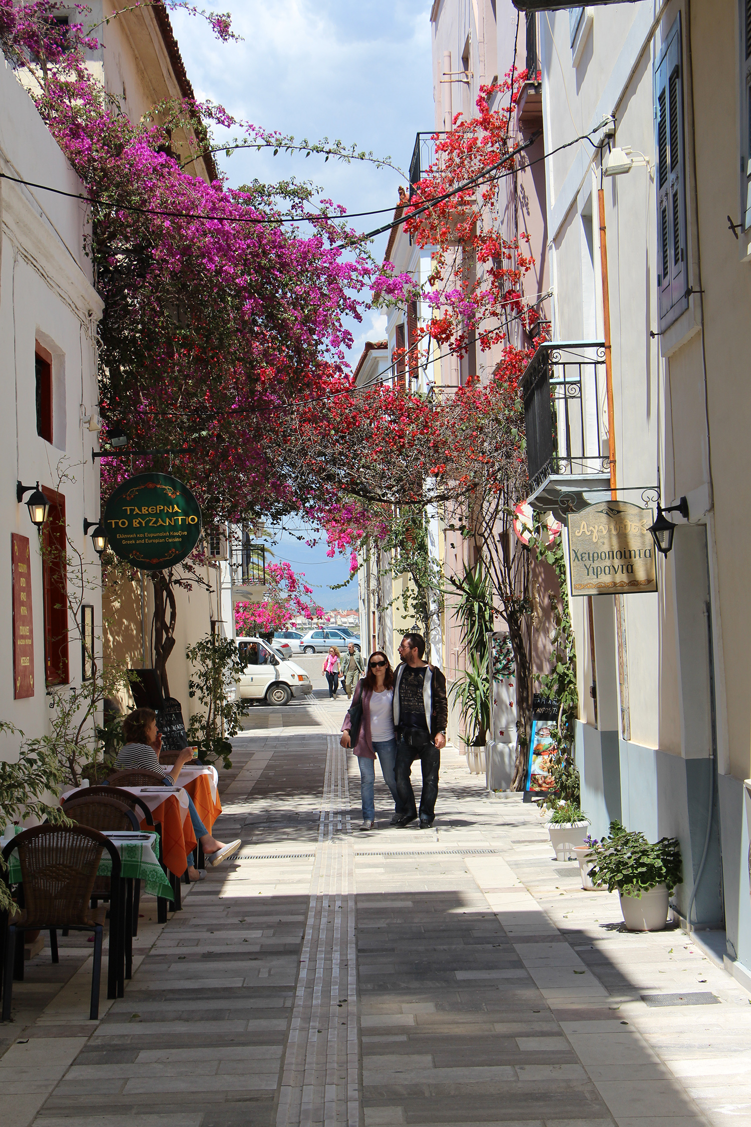 nafplio greece romantic streets