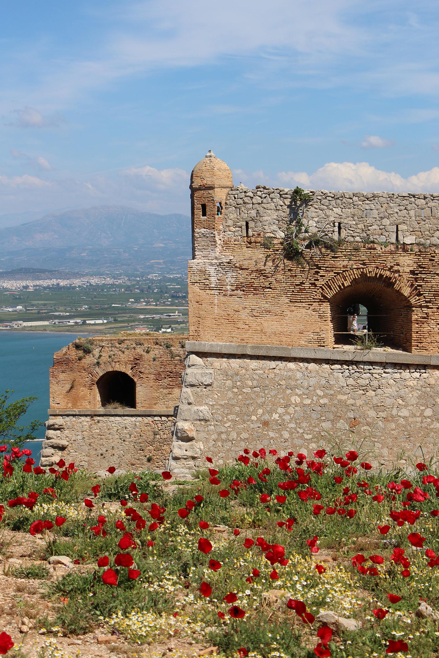 nafplio palamidi fortress bastions