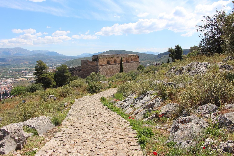 nafplio palamidi trails