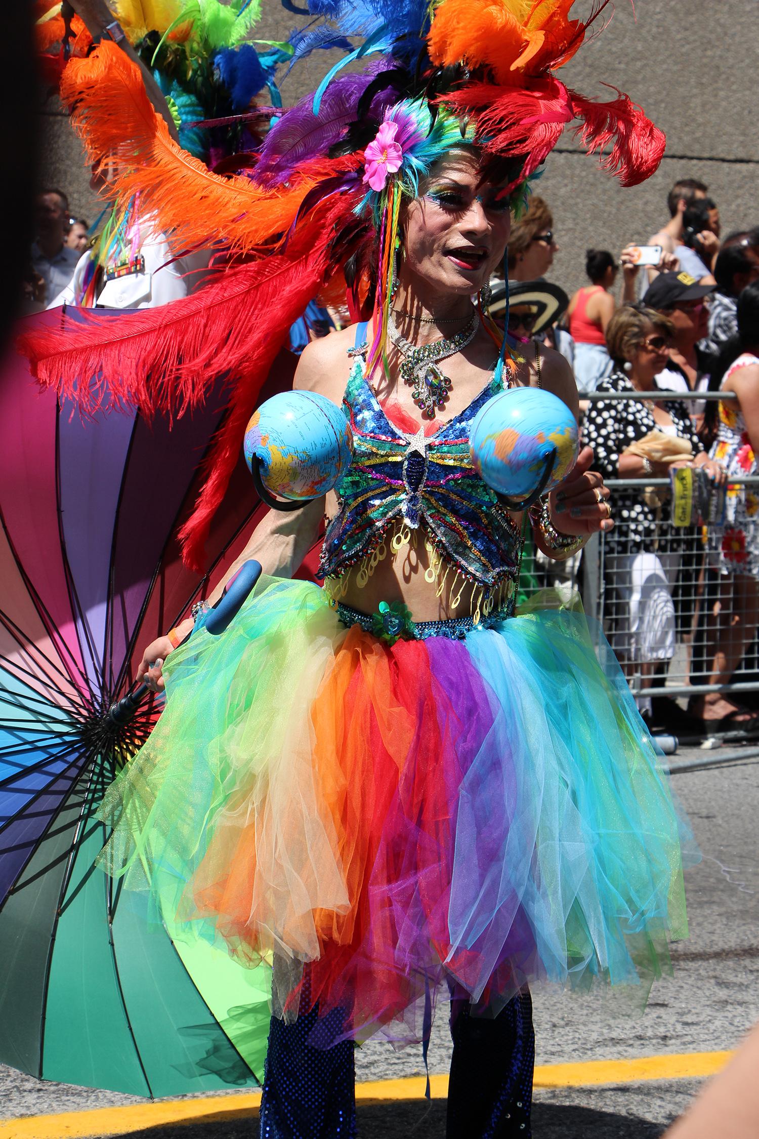 pride parade rainbow tutu outfit