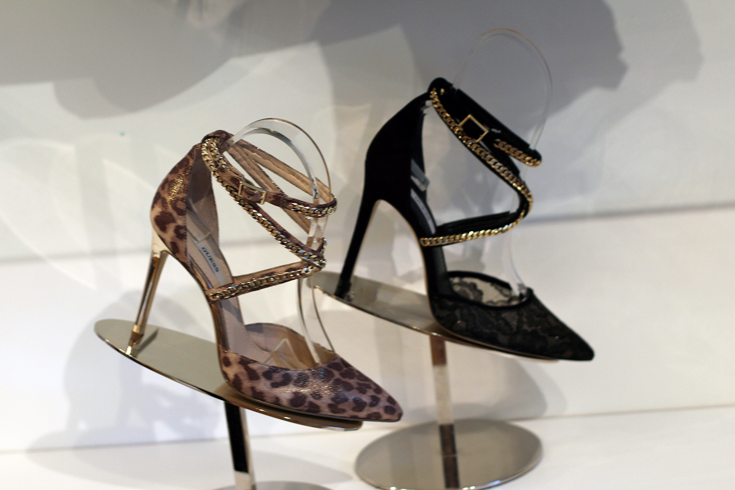 guess holiday 2014 collection pointy stilettos