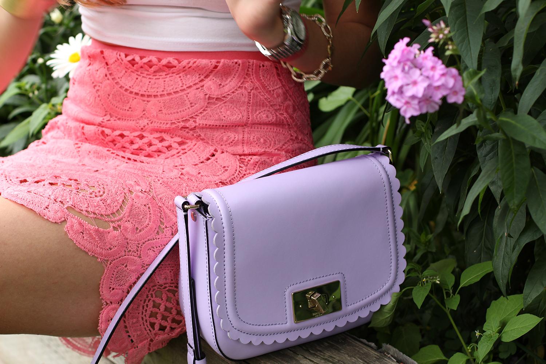 kate spade purple seth purse