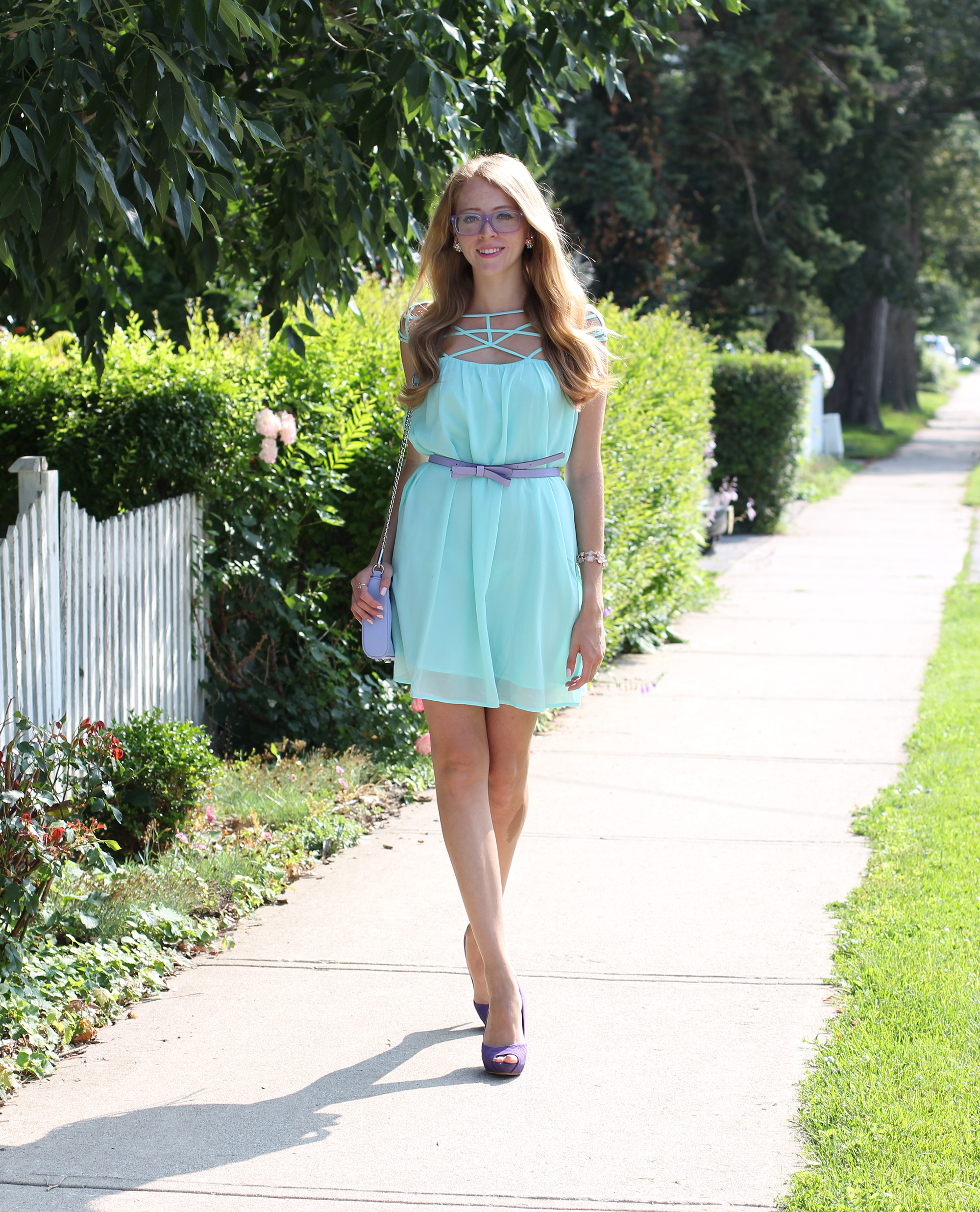 natalie ast mint and purple