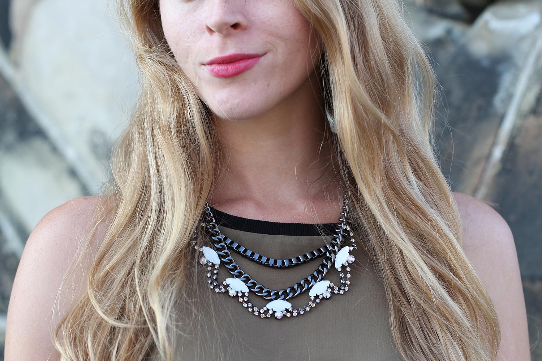 olsen europe statement necklace