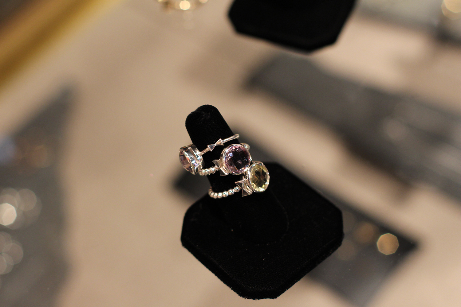 alessia magnotta amethyst rings