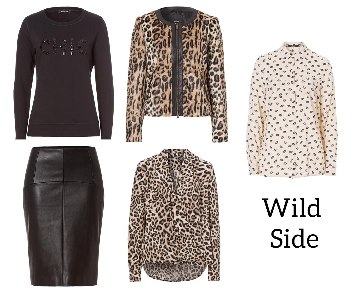olsen fashion fall 2014 wild side leopard print