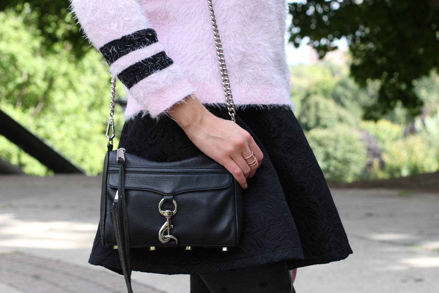 rebecca minkoff mini mac black