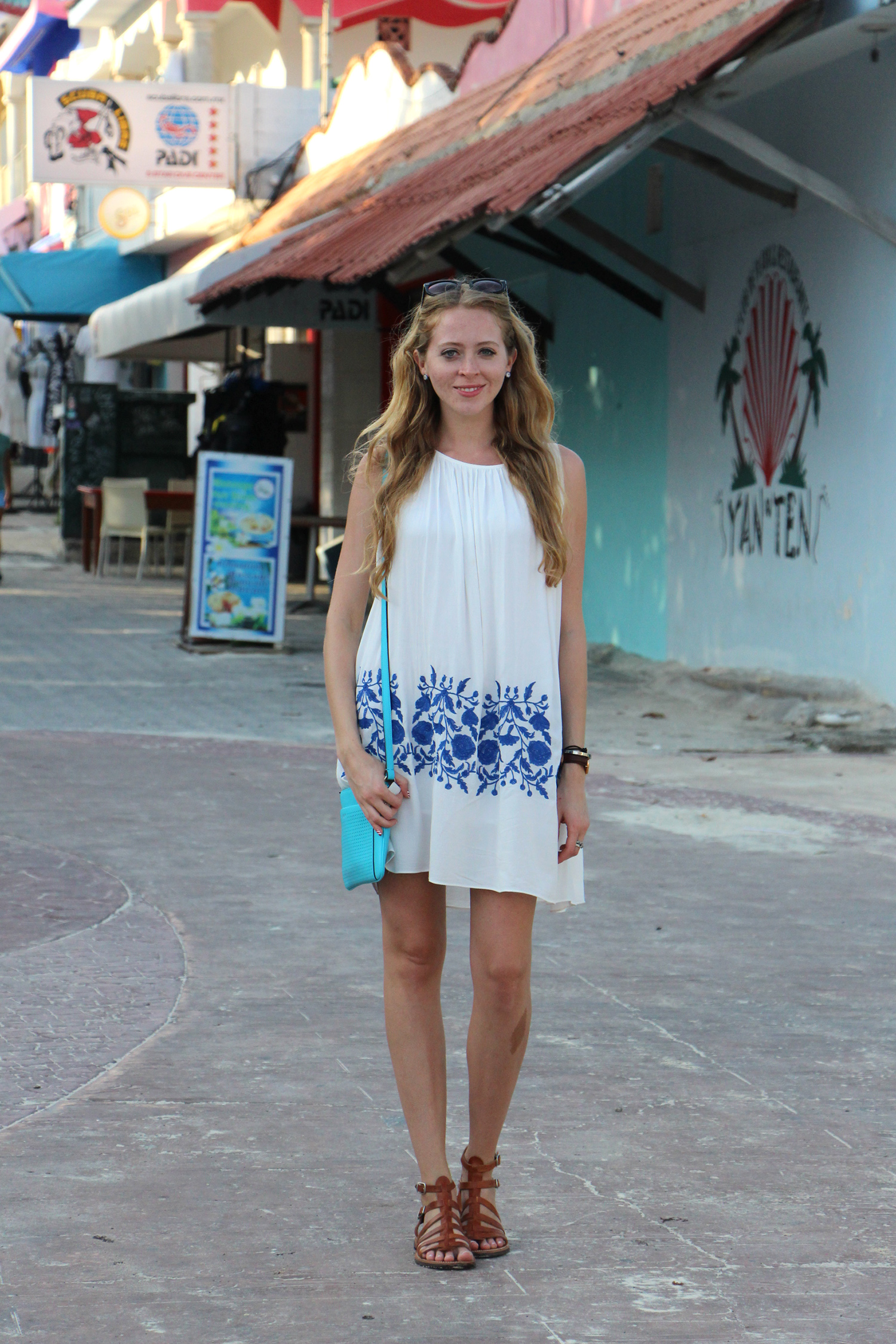 chicwish white ethereal dress gladiators