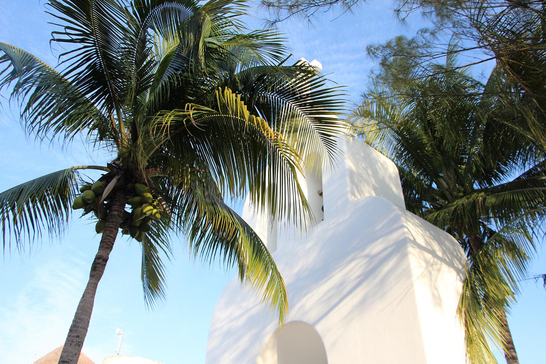 playa del carmen church