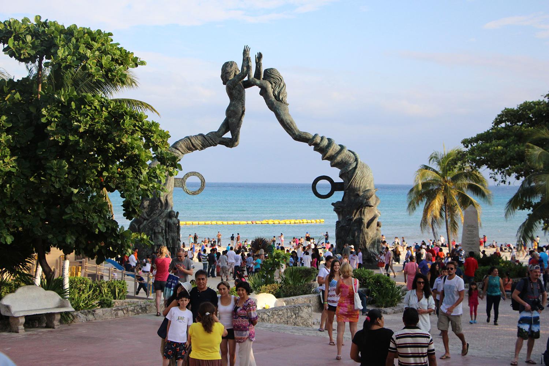 playa del carmen playa