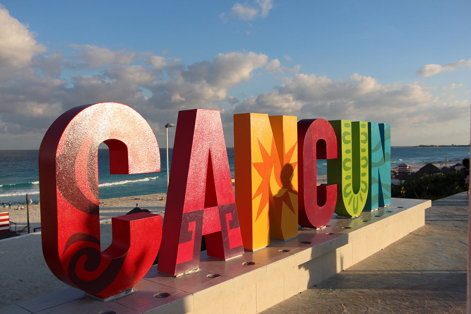 cancun sign