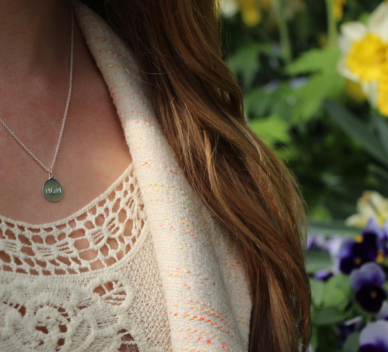 helen ficalora silver necklace