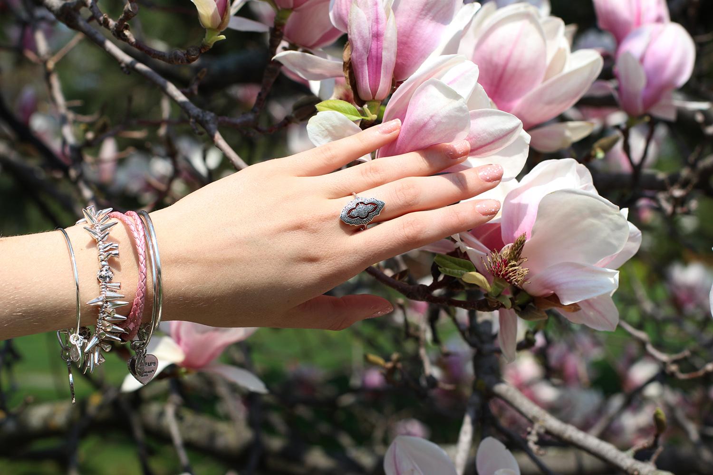 pandora vintage lace ring