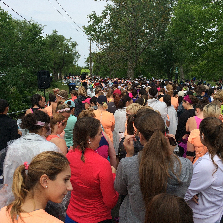 nike women's 15k toronto pace group