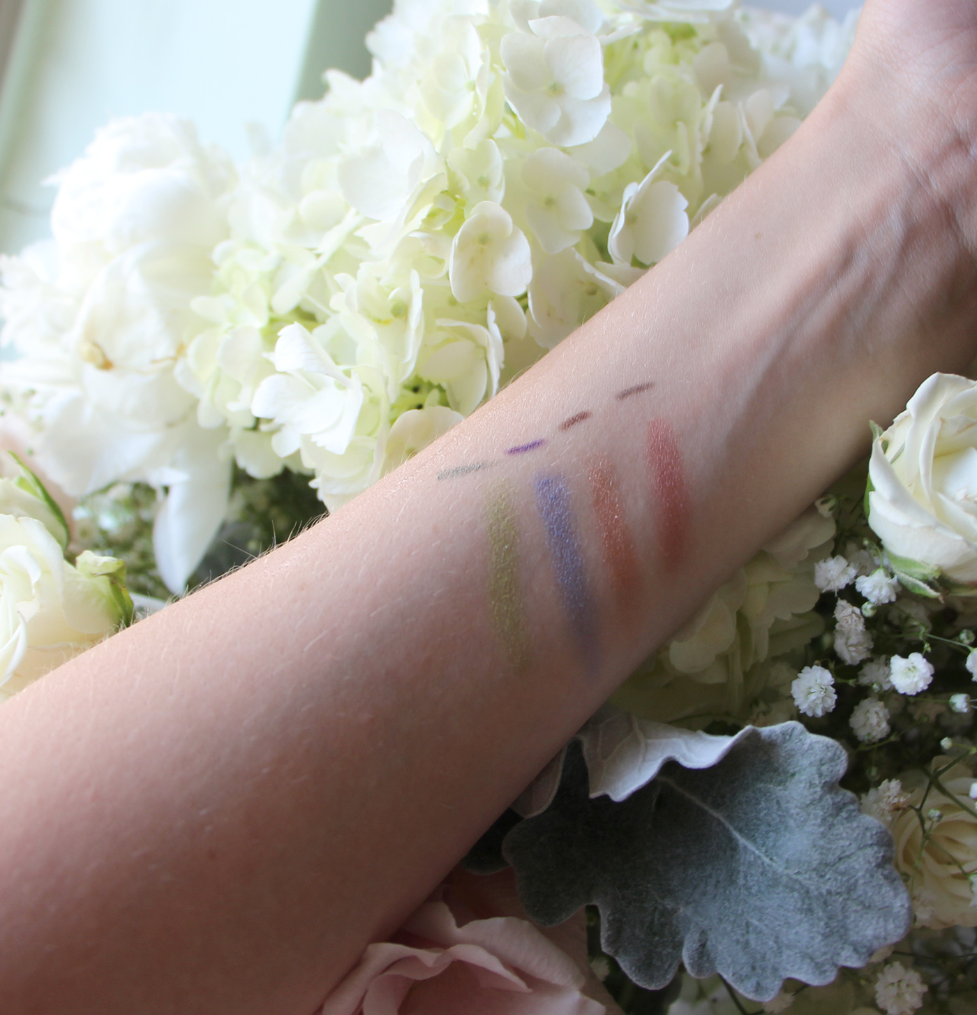 mary kay at play shadow sticks swatches