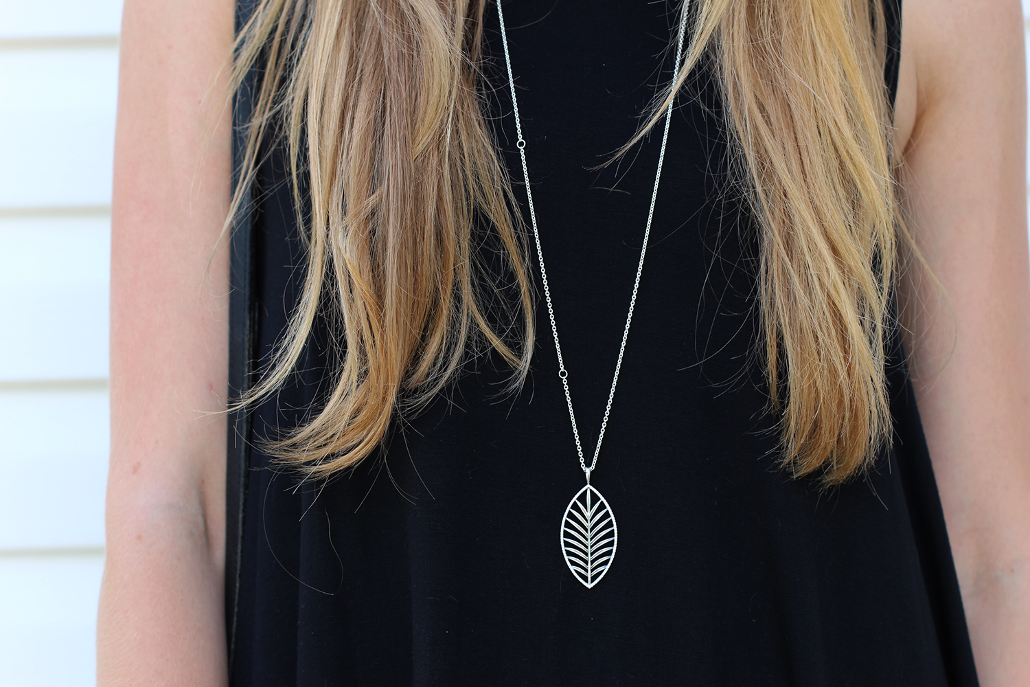 pandora summer 2015 palm necklace