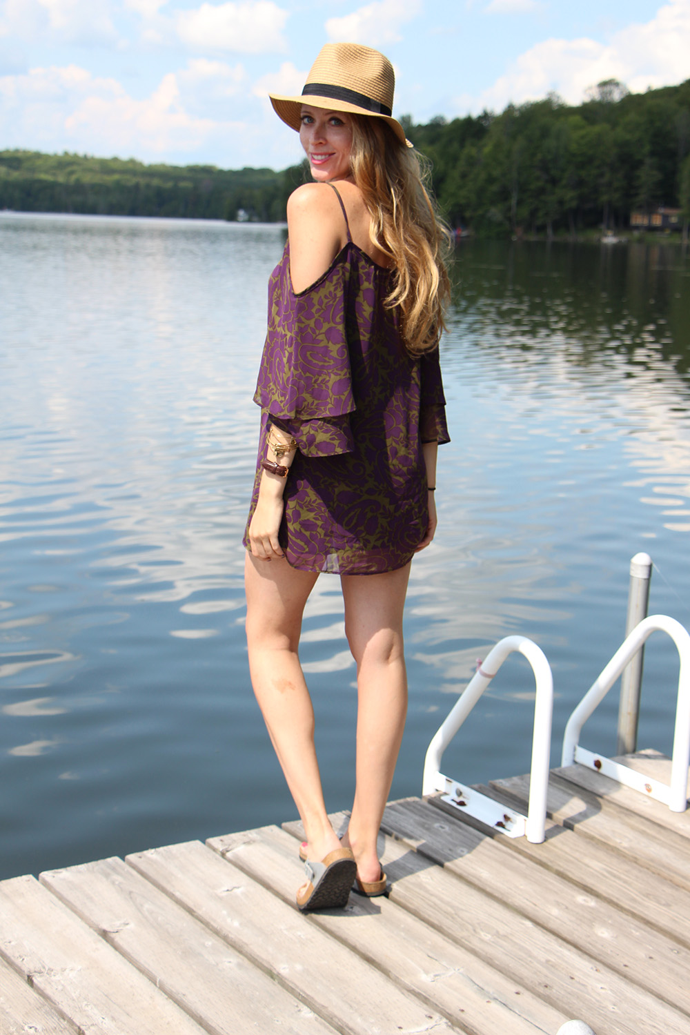 dress at the cottage